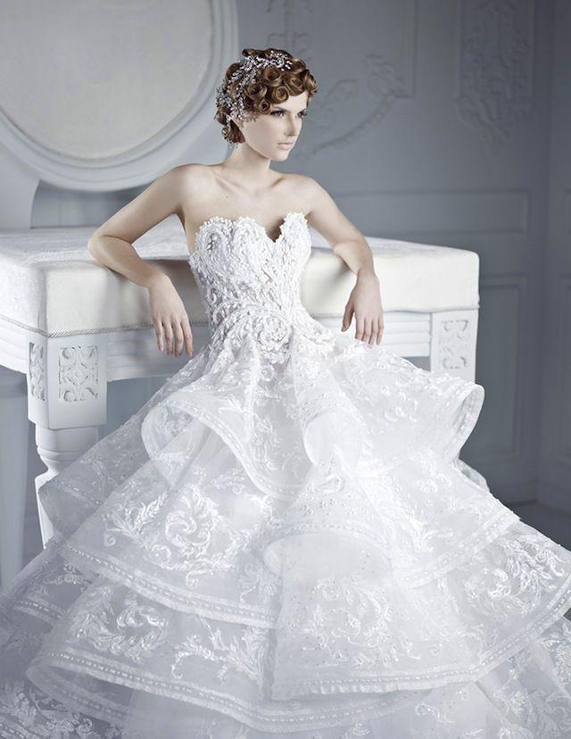 Fashion Friday: Michael Cinco Bridal 2012 | http://brideandbreakfast.ph/2013/02/15/fashion-friday-michael-cinco-bridal-2012/ | Photos: Belle the Magazine