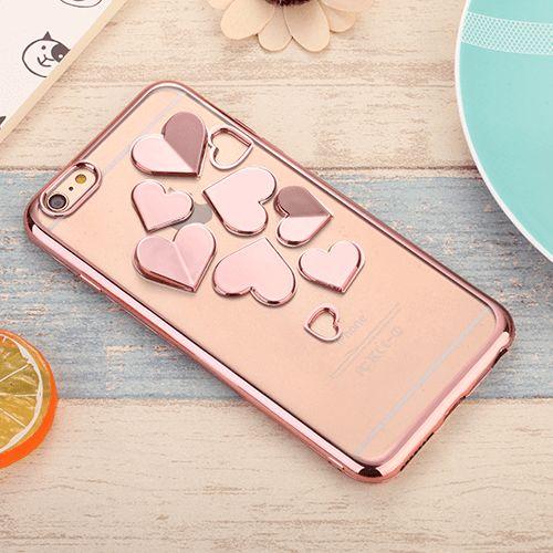 Rose Heart Mirrors