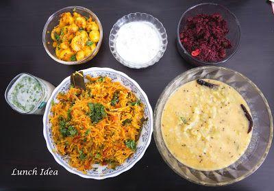 vegfood: Lunch Menu - Idea #7