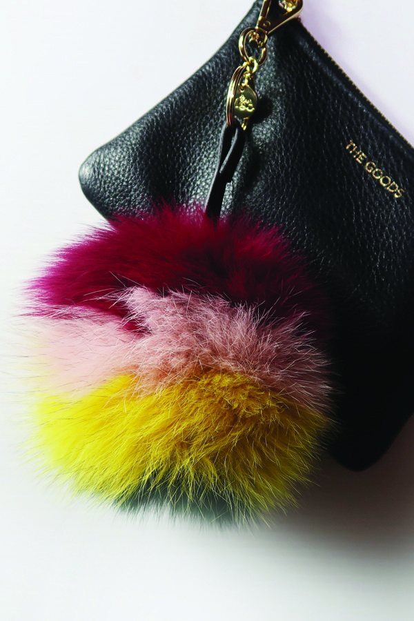 Mode & Affaire Fur Charme in Sunflower/Oxblood