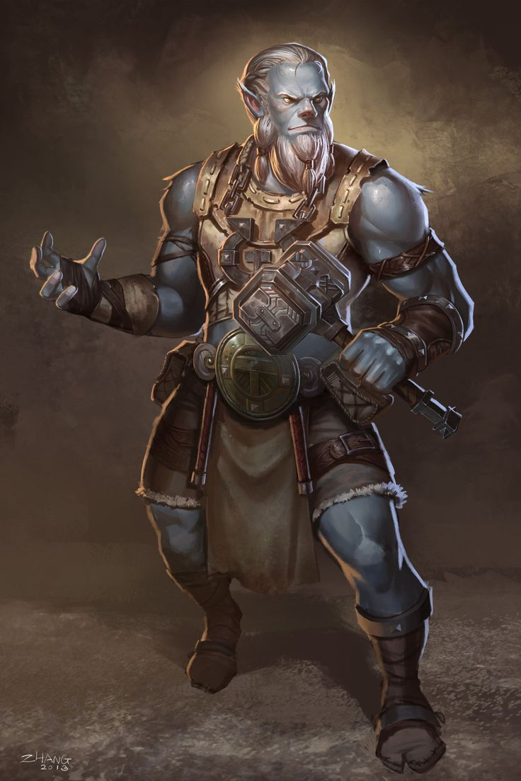 Male Orc by ZhangQipeng.deviantart.com on @deviantART