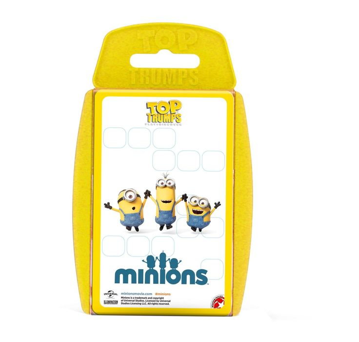 Minions Top Trumps Game: Amazon.co.uk: Toys & Games
