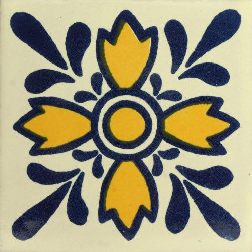 Traditional Mexican Tile - Oreja De Leon – Mexican Tile Designs