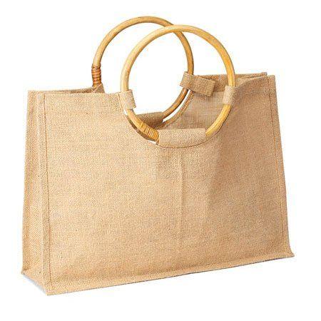 Jute Burlap Beach Attractive Wedding Gift Tote Bag