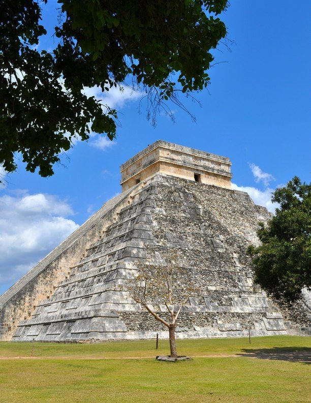 Chichen Itza, Yucatan, Mexico — by Jill Loeffler. The main pyramid at Chichen Itza near Cancun, Mexico. We had the day to spend here and it was such an amazing...