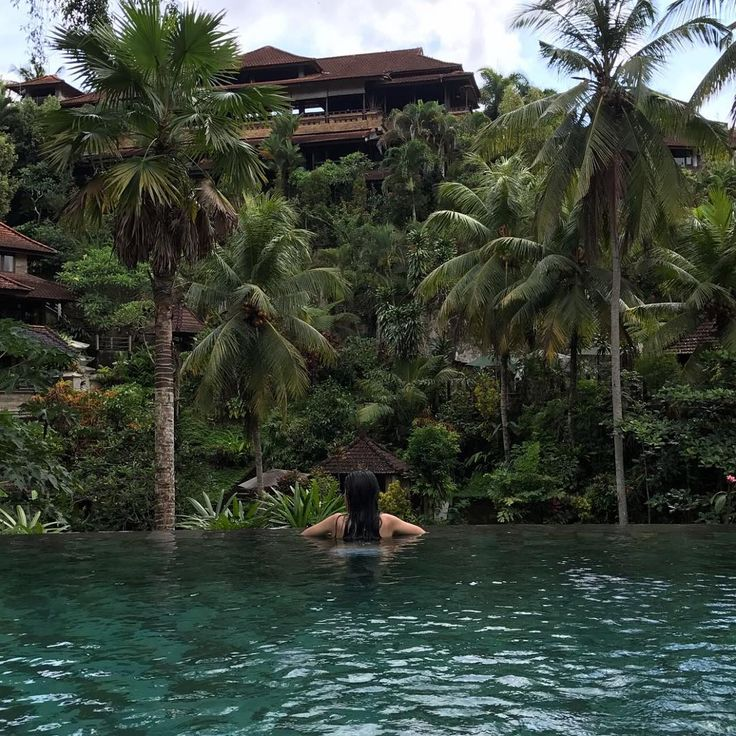 #bali #baligetaway #ubud #yogaretreat #yoga #pool #swimming #dreaming #holiday #selfcare My hubby and oldest daughter are on a health mission. Healthy body, healthy mind! How blessed we are!
