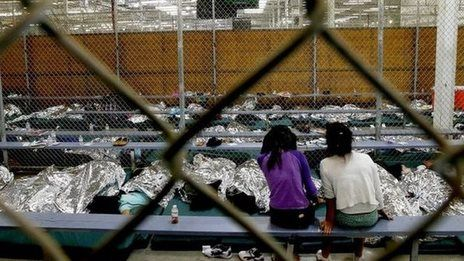 Why are so many children trying to cross the US border?