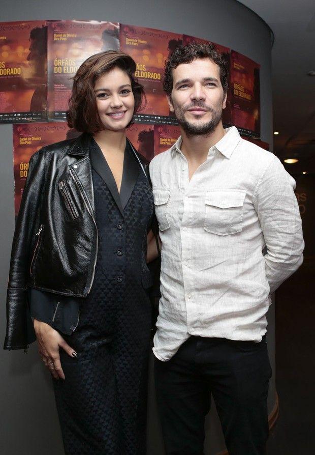 Daniel Oliveira e Sophie Charlotte (Foto: Rafael Cusato/Photo Rio News)