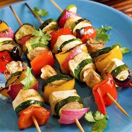 Tonzu Tofu Kebabs