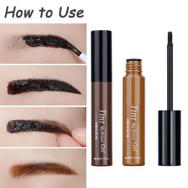3 Color Beauty Peel-off Eyebrow Tint