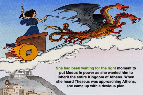 eReading: Greek Myths ($1.99) Reading app for children with dyslexia, LD, FASD, autism, slow readers, and other language based issues.     We took several Greek Myth stories with 37 ORIGINAL illustrations and combined them with narrations and highlighting of the text on each page.  Option Bar right on EACH page:  Narrator: on/off  Highlighting: on/off  Autopage forward: on/off  Bookmark  Go to Chapter  The reader completely controls the reading experience using his or her senses.
