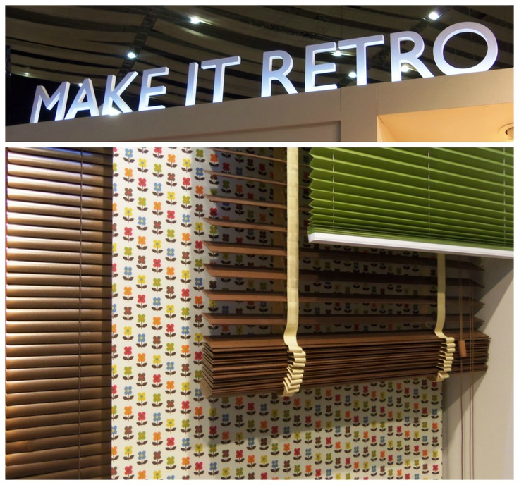 Hillarys Retro Blinds at the Ideal Home Show