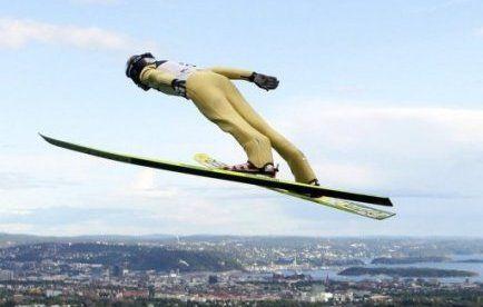 saut à skis féminin,