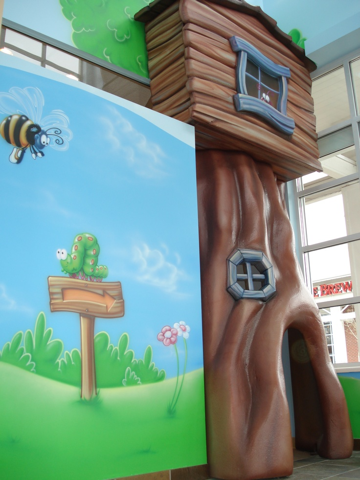 Top 25 ideas about wacky world on pinterest trees for Treehouse kids room