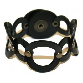 Ecouture by Lund -  Rubber circle bracelet - Accessories