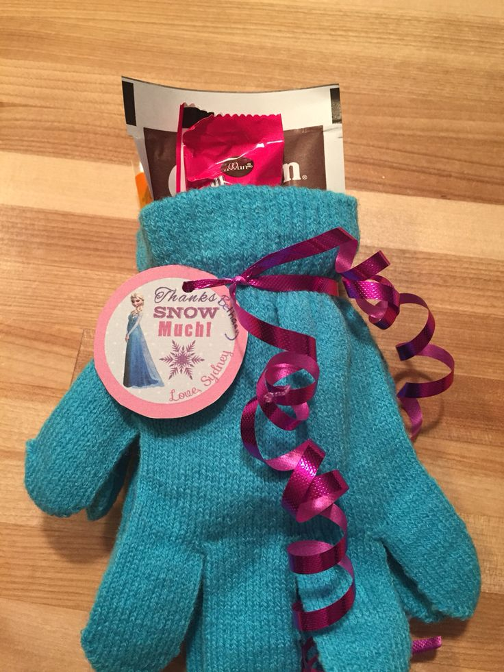 Frozen loot bags! Dollar store gloves, hot chocolate, and a hand warmer. -  Crafting Journal | unique loot bags | Pinterest | Loot bags, Hand warmers  and ...