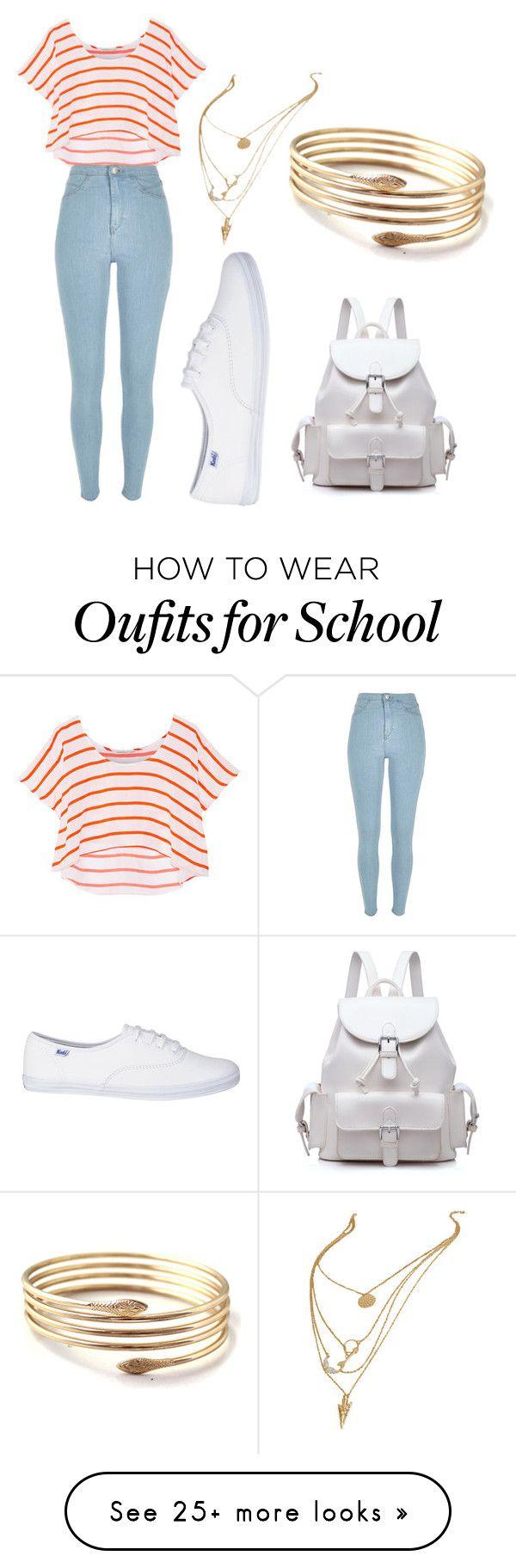 Blusa rayas, pantalon claro, tenis blancos.