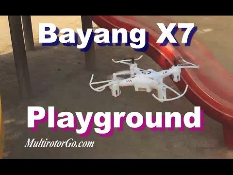 Bayang Toys X7 Quadcopter Zen flight at playground RC Drone You can get it super cheap here : http://shrsl.com/?~8uvx and here : http://shrsl.com/?~8uvy