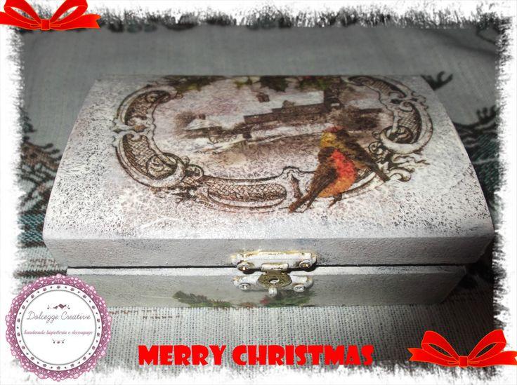 cofanetto cracklè cib carta riso natalizia