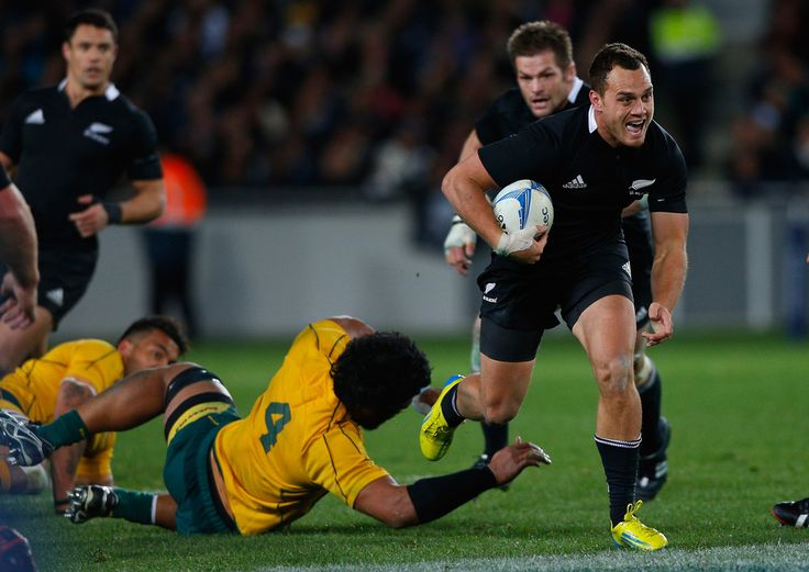 Israel Dagg Photos Photos - Israel Dagg of the All Blacks in action during The Rugby Championship Bledisloe Cup match between the New Zealand All Blacks and the Australian Wallabies at Eden Park on August 25, 2012 in Auckland, New Zealand. - New Zealand v Australia: The Rugby Championship