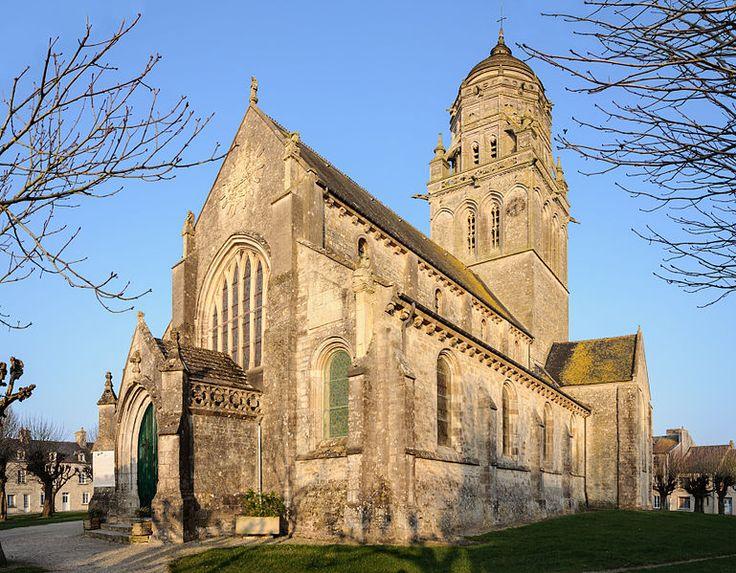 L'Eglise de Sainte-Marie du Mont. Normandie