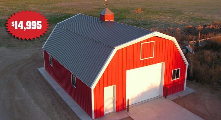 Best 25 steel buildings ideas on pinterest pole for 30x40 garage package