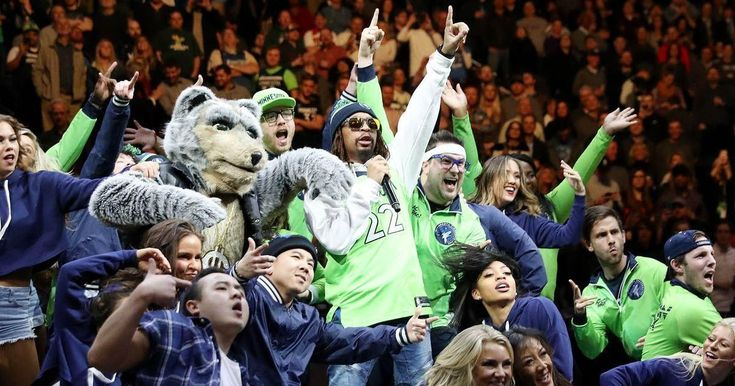 Wolves Twi-lights: Celebrity sightings at the Target Center