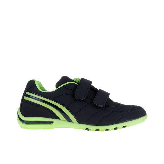 Garth fekete zöldel gyerek sportcipő