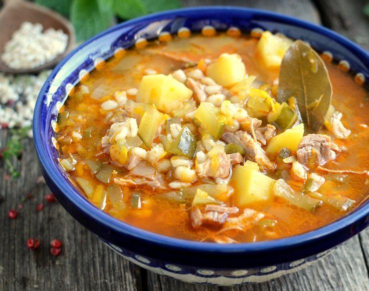 Gotuj z Cukiereczkiem: Rassolnik czyli zupa ogórkowa po rosyjsku