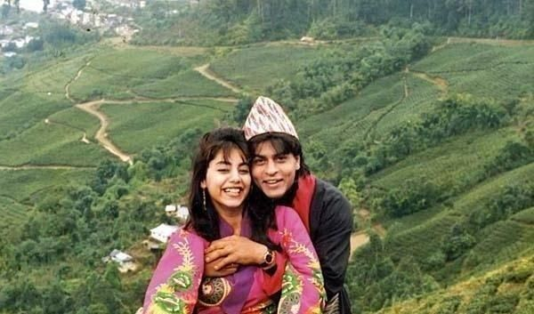 SRK and Gauri's Honeymoon picture