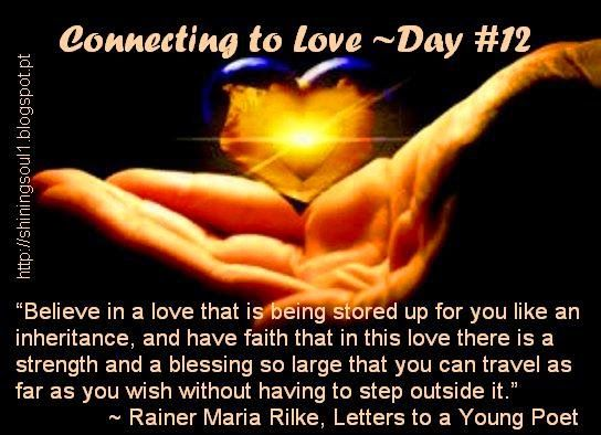 ShiningSoul: CONNECTING TO LOVE ~ DAY #12