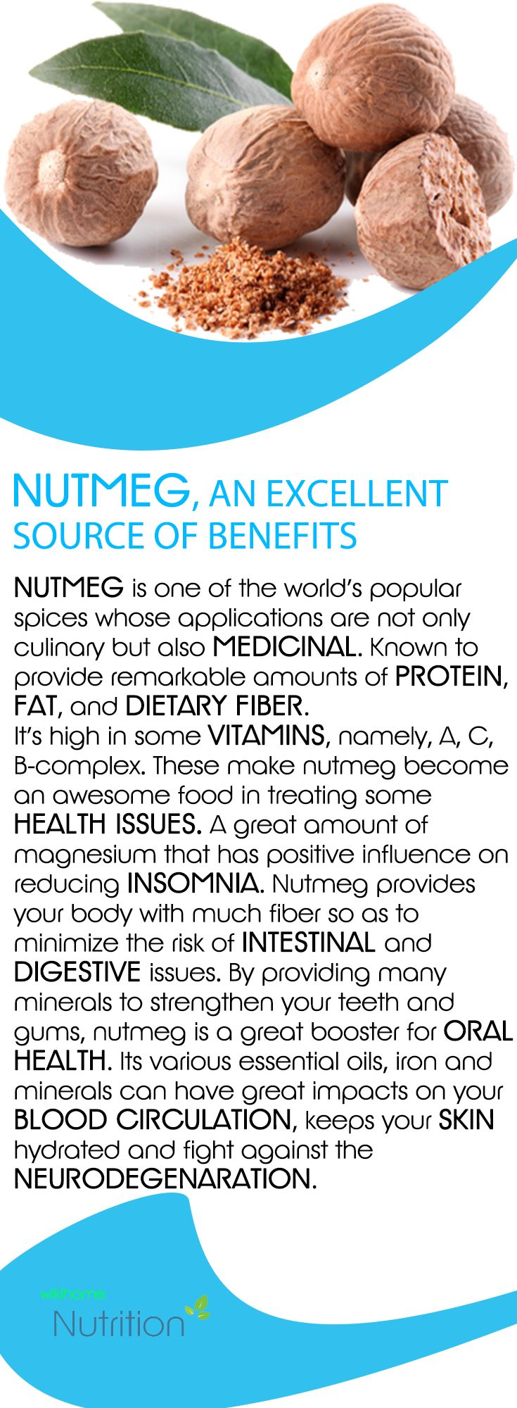 Nutmeg, an Exellent Source of Benefits