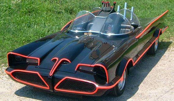 Batman – 1955 Ford Lincoln Futura Concept Car