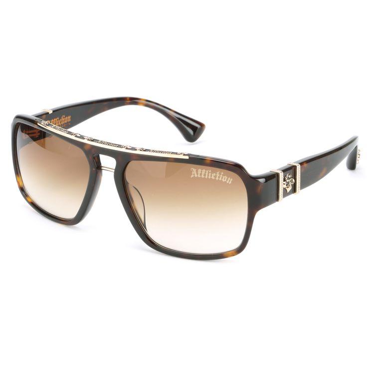 Affliction ERIK Sunglasses – Tortoise/Gold