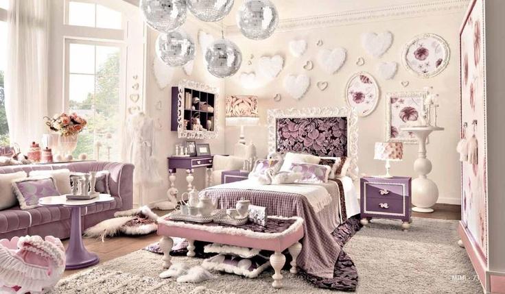 Luxusní dětský pokoj jak pro princeznu od AltaModa http://www.saloncardinal.com/galerie-altamoda-3d0