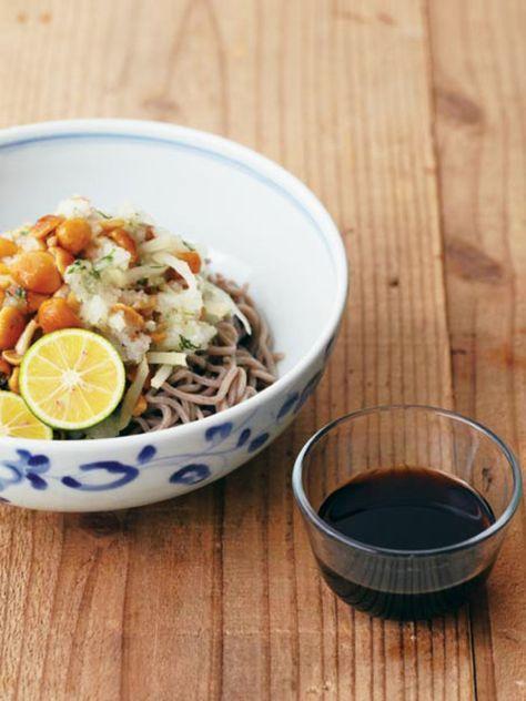 大根となめこがどっさり! 爽やかな夏レシピ。 『ELLE a table』はおしゃれで簡単なレシピが満載!