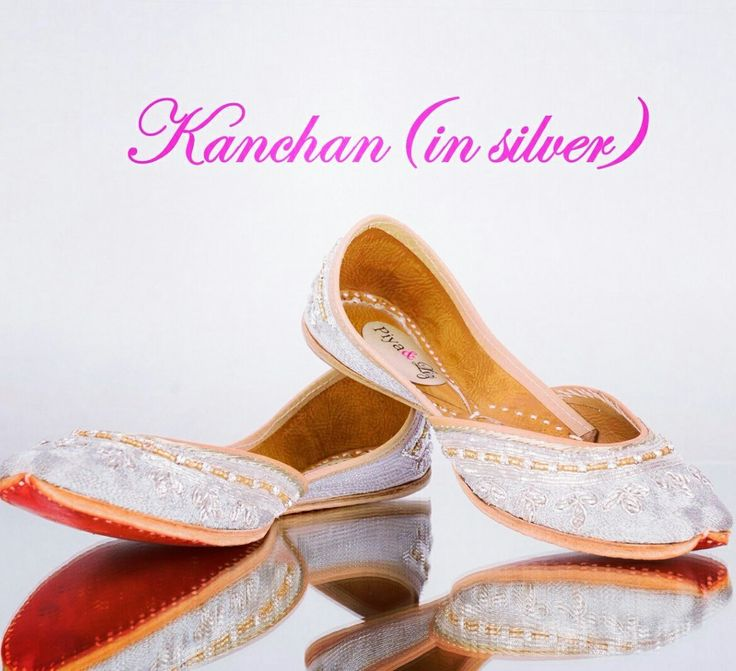 Today we are obsessing over our #Kanchan #jutti in silver with gold piping. We may be in #love ♡  Limited pairs in stock. Email/DM for price inquiries. Contact info in bio. #silver #gold #shoes  #PiyaAndLiz #winterishere #christmas #shopping #gift #desi #fashion #redbottom #handwork #leather #goldpiping #piping #rhinestones