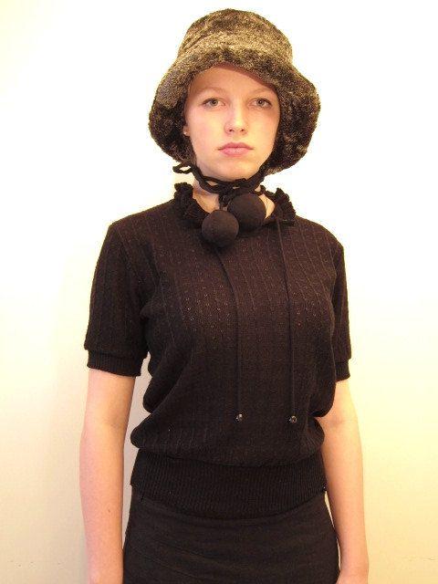 Faux fur Fluffy hat by vonBingen on Etsy
