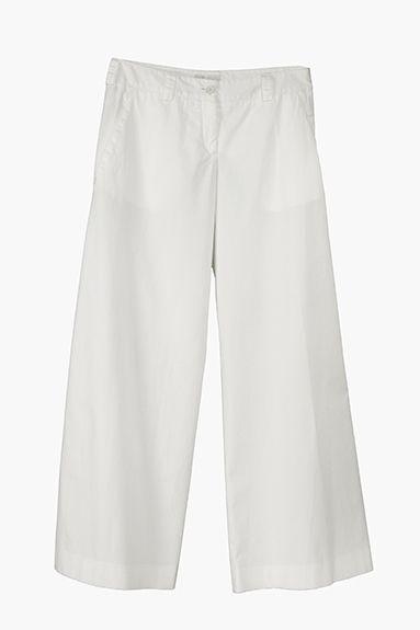 MARICA wide leg pant in cotton popeline, garment died (dreaming the seaside)