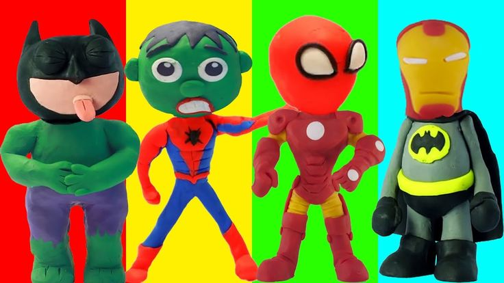 Colors for Kids to Learn Wrong Heads Play Doh Iron Man Hulk Batman Spiderman Dinosaur for Children Colors for Kids to Learn Wrong Heads Play Doh Iron Man Hulk Batman Spiderman Dinosaur for Children https://youtu.be/55QR7hRuC8c #ColorsforKids to Learn #WrongHeads #PlayDoh #IronMan #Hulk #Batman #Spiderman #Dinosaur for #Children Hi everyone and welcome to Colors For Children To Learn YouTube channel. On this channel we focus on entertaining and educating kids of all ages (toddlers preschool…
