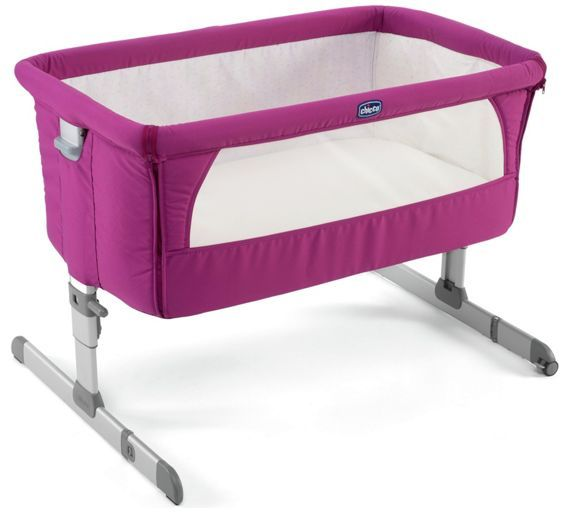 Buy Chicco Next 2 Me Side-Sleeping Crib - Fuchsia at Argos.co.uk - Your Online Shop for Cots and cribs, Cots, cribs and cot beds, Sleep, Baby and nursery.
