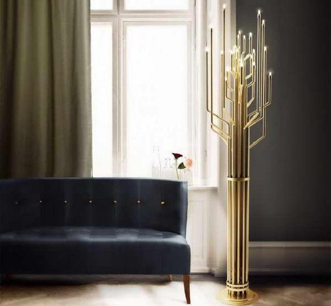 243 best ideas for the house images on pinterest lamp design contemporary style floor lamp janis by delightfull aloadofball Gallery