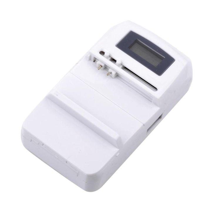 Купить товарGd 925u жк цифровой универсальное зарядное устройство с в категории Зарядные устройствана AliExpress.       GD-925U жк-цифровой Универсальное зарядное устройство с          Usb-порт выход для мобильного телефона США штекер