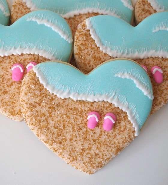 Beach cookies. Love!