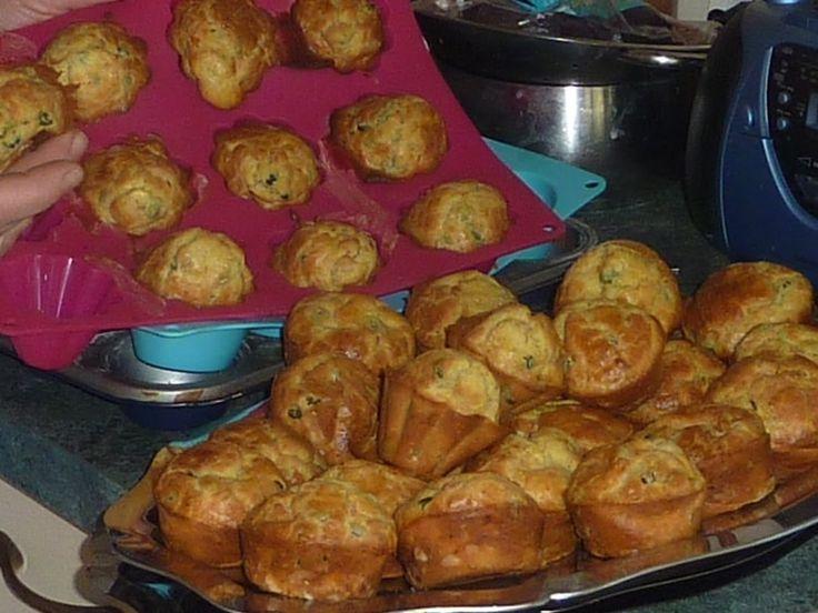 Muffins au saumon et au fromage frais