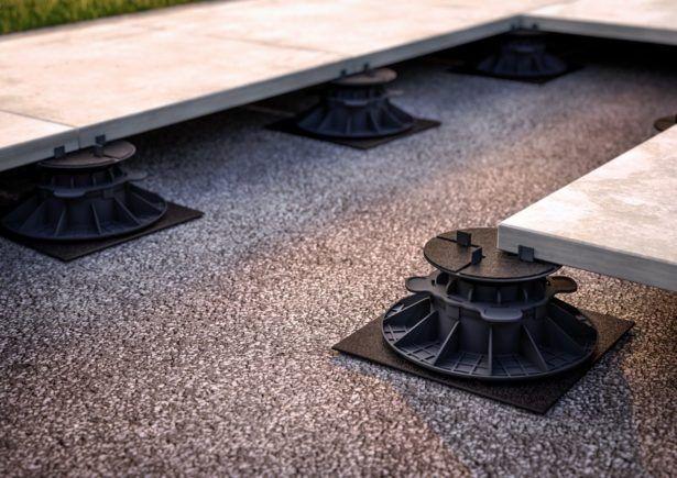 Stelzlager Terrasse Lose Verlegung Von Outdoor Keramik