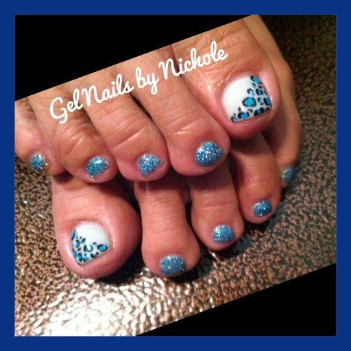 Gel toes/ Gel Nails by Nichole
