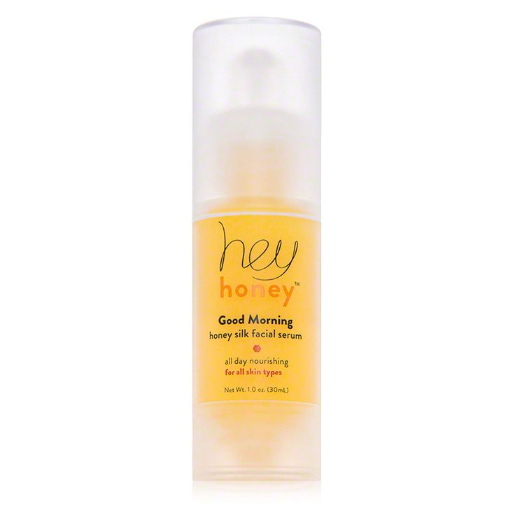 hey honey 'good morning' honey silk facial serum. $41. Literally the only thing that clears my skin up.