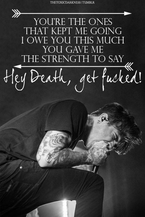 The Amity Affliction // Death's Hand