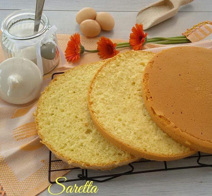 Questo pan di spagna classico è semplice da fare e soprattutto soffice come una nuvola..... la ricetta della nonna non si cambia!!!!!